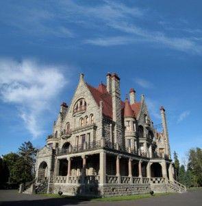 Craigdarroch Castle, Victoria, BC, Canada.