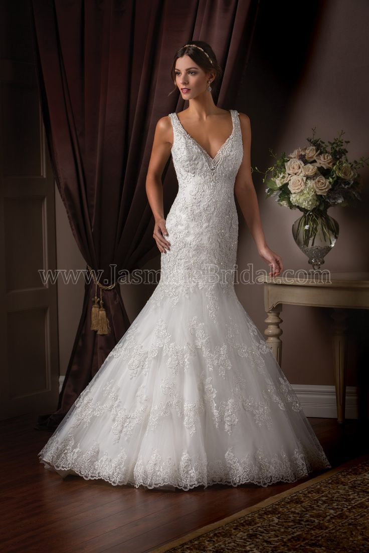 34 best images about spring 2015 bridal on pinterest for Jasmine couture wedding dresses