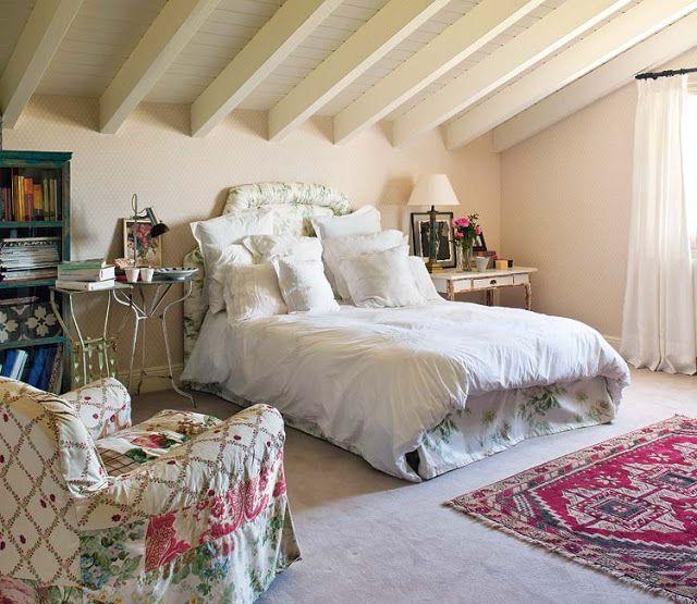 дневник дизайнера: Французский Прованс в интерьере спальни. 80 романтичных фото для вдохновения