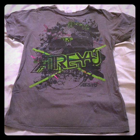 Atreyu Band Tee Atreyu  Band Tee- size Large (14-16). In great condition, band tees very well taken care of. Hot Topic Tops Tees - Short Sleeve