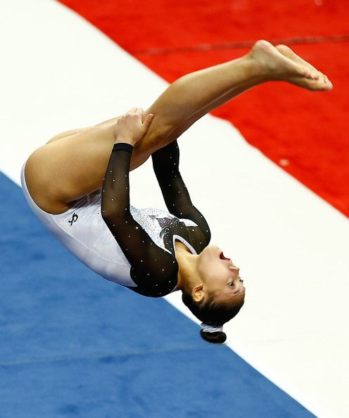Kyla Ross in P&G Gymnastics Championships