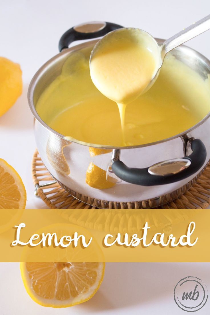 Lemon custard can be the best filling for any dessert: a birthday cake, an Italian puffpastry millefoglie, a fruit tart, èclairs... and many others. A super simple recipe, an amazing lemon twist! Summer approved!  http://www.mozzarellabites.com/lemon-custard-crema-pasticcera/