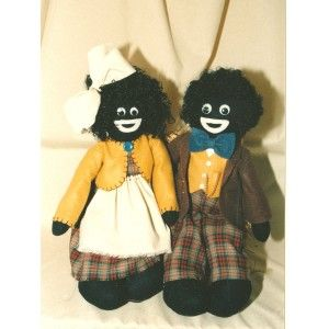 The Roberstons Golliwog dolls pattern