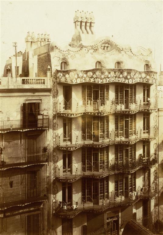 Barcelona antigua. Gaudí