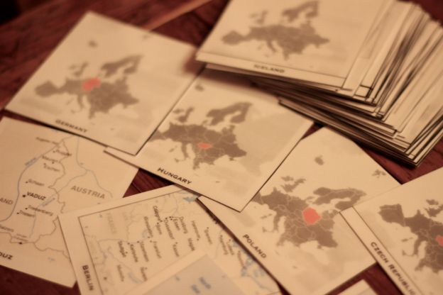 European Countries & Capitals Flashcards: Printables for memorizing the countries and capitals of Europe. (Classical Conversations Challenge A)