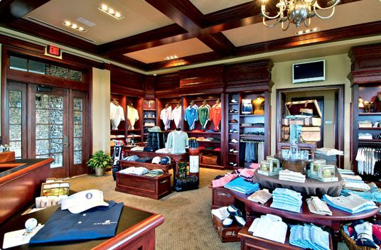 golf pro shop layout - Google Search