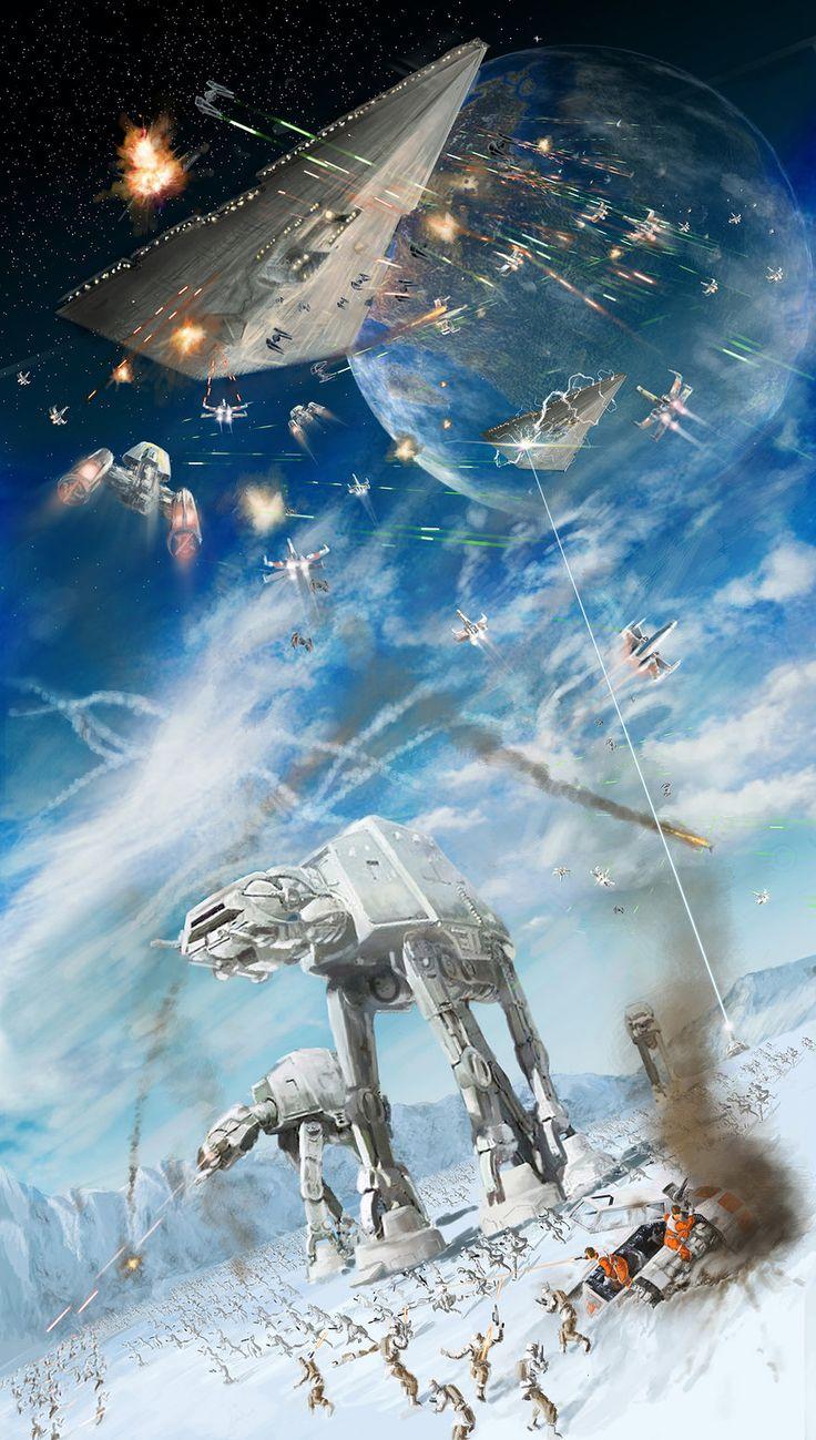 Battlefield Hoth - Star Wars | meanpete at DeviantArt