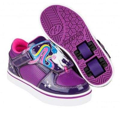 Heelys Unicorn Twister Grape purple hot Pink Hx2 Kids Heely Shoes. Unicorns  Do Exist On Our New Pair Of Heelys Twisters! synthetic Upper With Padded  Tongue ... 9368e70e12