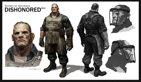 dishonoured concept art - Google Search Dishonoured art - brilliant k chen duisburg
