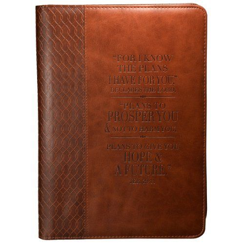 Vintage Leather Look Jeremiah Verse Bible Book Cover Large: 46 Best Images About I Know The Plans I Have For You... On