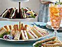 Curried Shrimp Tea Sandwiches