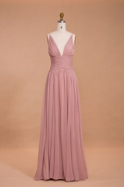 explore dusty pink bridesmaid dresses