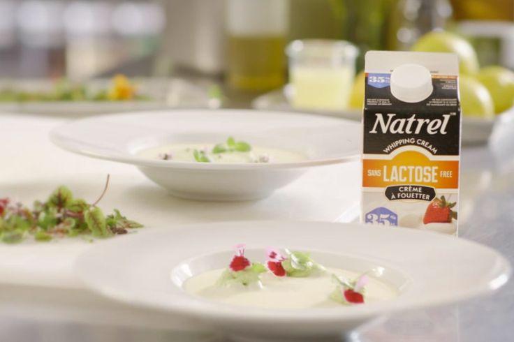 Crème parfumée aux herbes fraîches et sa vichyssoise | Natrel