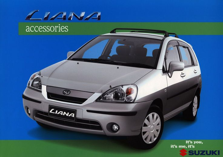 Suzuki Liana accessories; 2000  (Australia) | auto car brochure | by worldtravellib World Travel library - The Collection