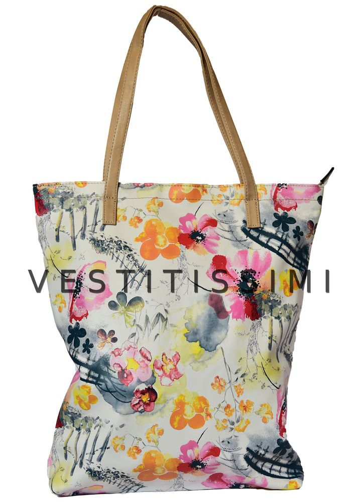 Borsa Donna A Mano Borsetta Da Spalla Borse Shopping Borsette Fiori Bag B-Br03
