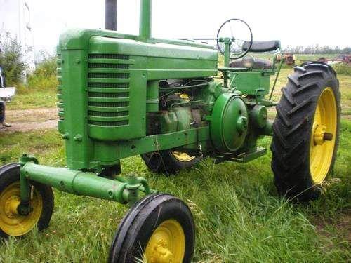 1938 John Deere Model B Tractor  Old John Deere tractors  www.oldtractorpictures.com