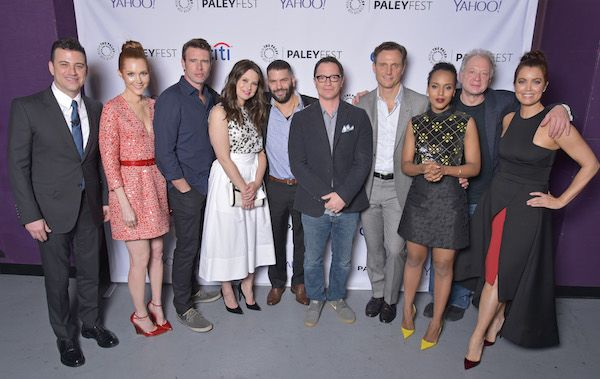 ABC's Scandal Cast and Creator's Honored at 32nd Annual PaleyFest LA Watch Panel Replay #Scandal #ABC #PaleyFest  Read more at: http://www.redcarpetreporttv.com/2015/03/09/abcs-scandal-cast-and-creators-honored-at-32nd-annual-paleyfest-la-watch-panel-replay-scandal-abc-paleyfest/