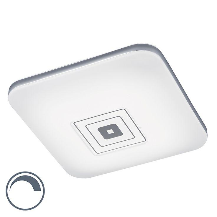 Moderne quadratische Deckenleuchte weiß inkl. LED dimmbar mit einstellbarer Lichtfarbe - Concorde Jetzt bestellen unter: https://moebel.ladendirekt.de/lampen/deckenleuchten/deckenlampen/?uid=40c591e5-730e-5504-93c2-2771fed9648a&utm_source=pinterest&utm_medium=pin&utm_campaign=boards #deckenleuchten #lampen #modern #deckenlampen Bild Quelle: www.lampenundleuchten.de