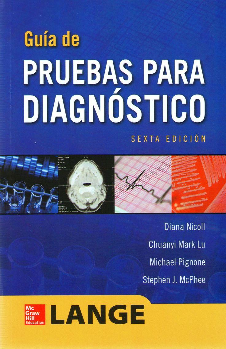 Lange. Guias para las pruebas diagnosticas