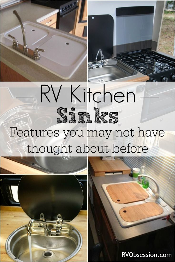 rv kitchen sinks kids in the book camper renovation tips living who knew there was so much to learn about huh they come many different shapes and sizes it can be hard know what features