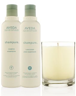 This is the best smelling shampoo and conditioner + candle in the whole world. I'm completely honest here. I never want to stop smelling this.