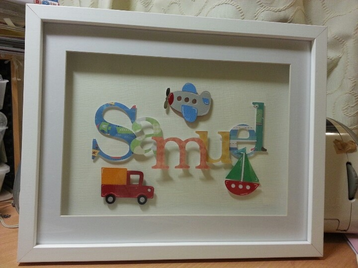 name frame by me - Name Picture Frames