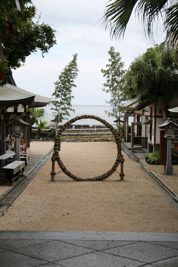 Aoshima shrine, Miyazaki, Japan. Located in a tropical forest and facing the sea...