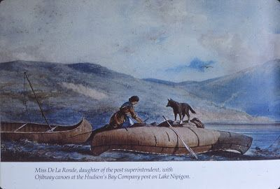 "Nipigon Museum The Blog: CANOES In ""The Art Of William Armstrong """
