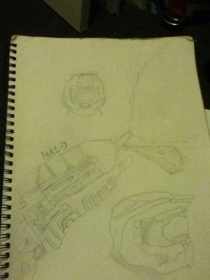 my halo drawing lol