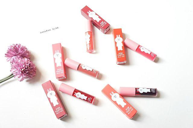 Ammarah Blog: Review: Missha X Line Friends Poptastic Jelly Tint...
