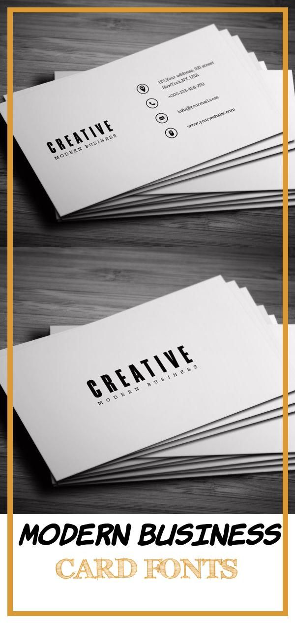 17 Best Modern Business Card Fonts In 2020 Business Card Fonts