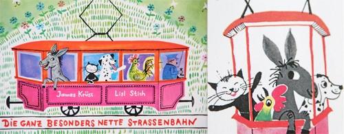 fine fine books: James Krüss and Lisl Stich: Die ganz besonders nette Straßenbahn