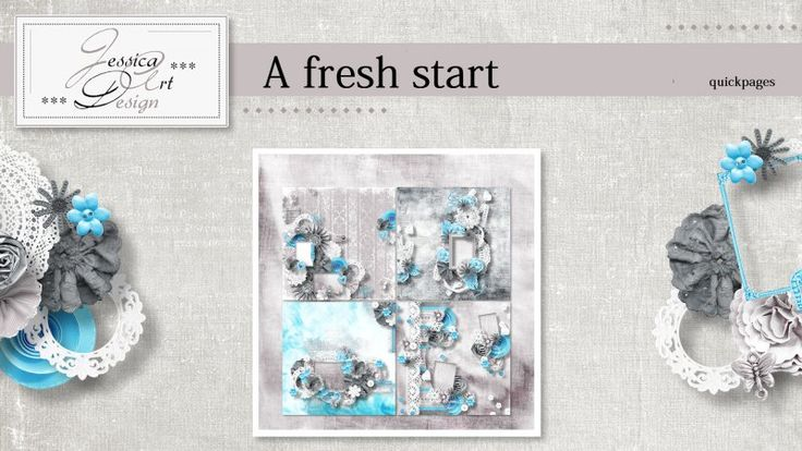 A fresh start quickpages by Jessica art-design