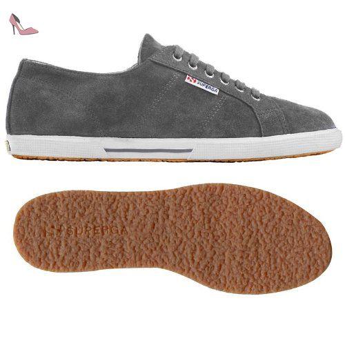 2790 Acotw Linea Haut Et En Bas Avec Des Chaussures Gris Superga bv751Ujn