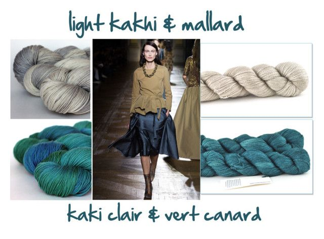 combo 11 by miss-agnes on Polyvore featuring mode, Dries Van Noten, yarn and tanisfiberarts