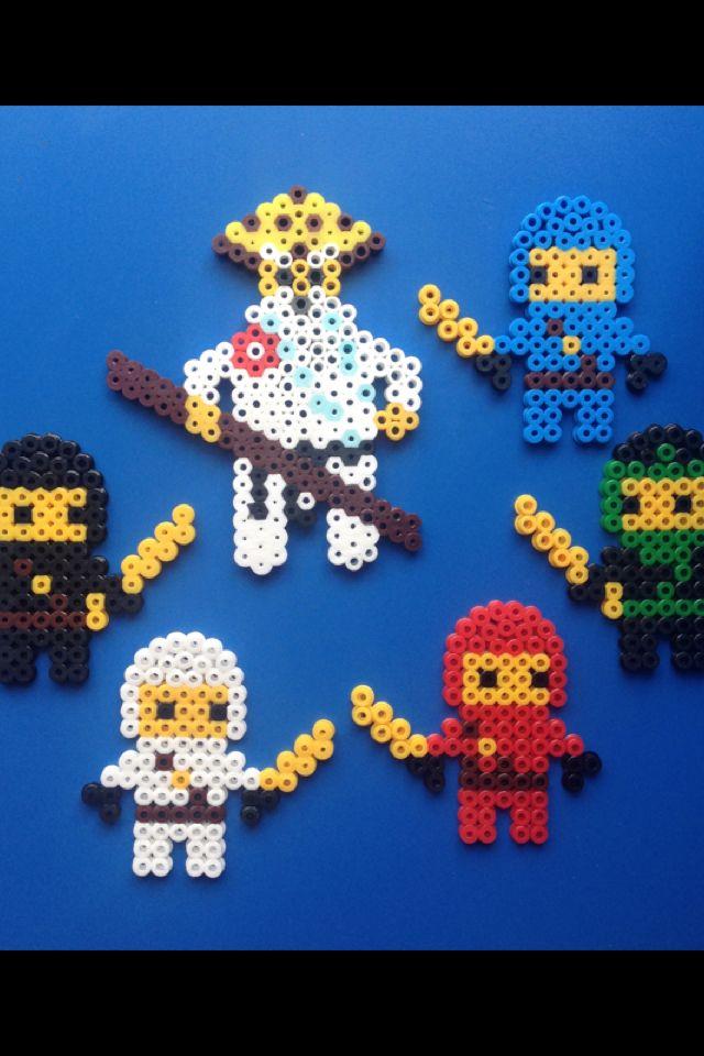 Lego Ninjago Kai Lloyd Zane Sensei Wu Cole Jay I Used