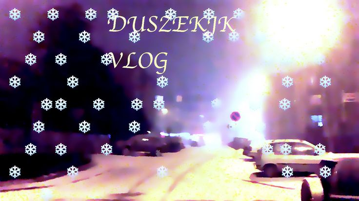 It's snowing! [vlog]