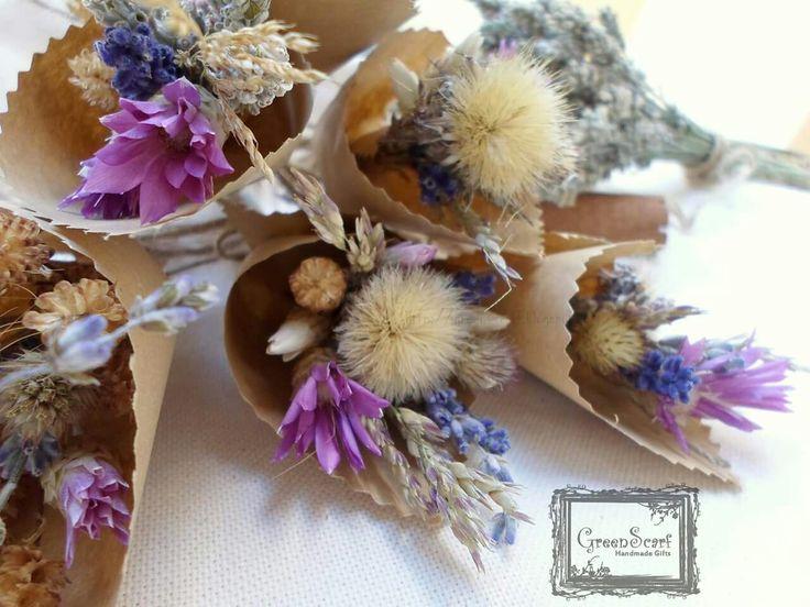Autumn mini-bouquets