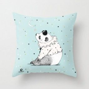 PILLOW PANDA MAKERS OF DESIGN www.makersofdesign.com A curated online collection of independent designers Buy Independent Design !  Stay Unique ! ♡ We ship worldwide