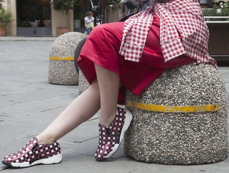 Sophie Eliseeva from Sophie's Avenue with #ShineBabyShine #Pitti #Firenze #MyPINKOExperience #PINKO