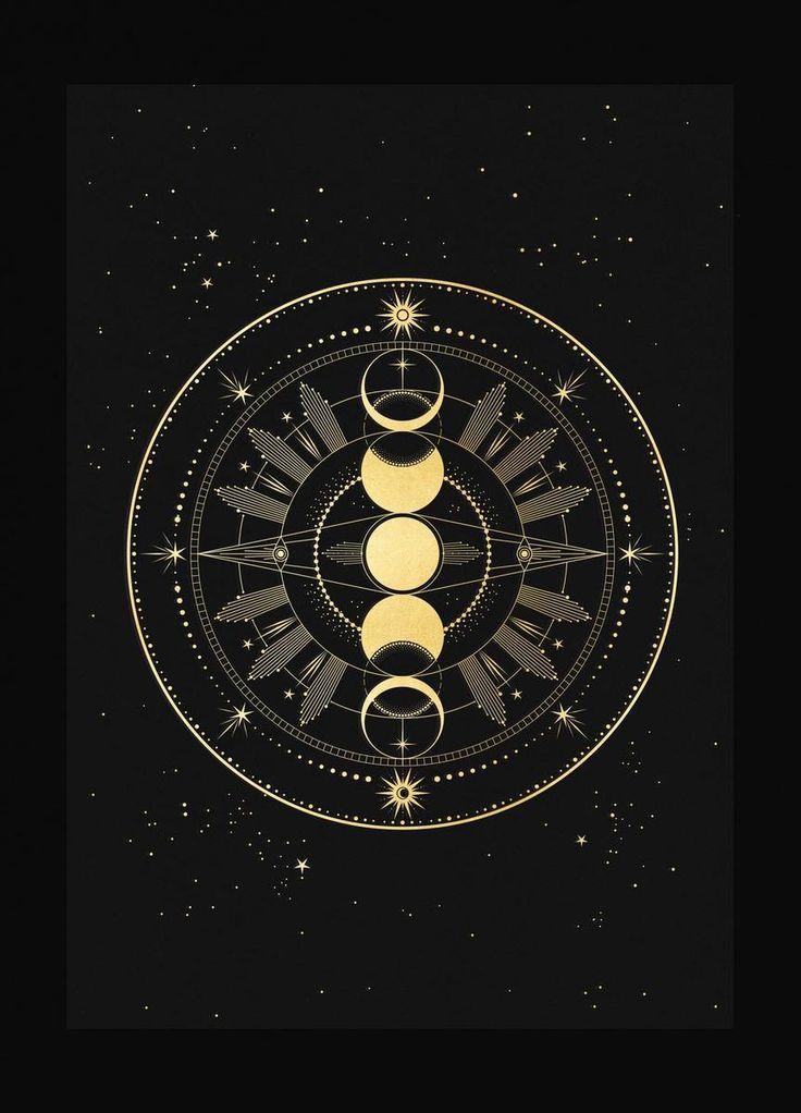 Moon Phase Totem – #Moon #Phase #symbol #Totem