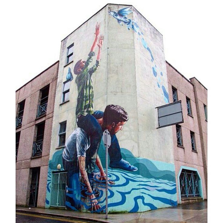 Amazing Limerick Street Art #LoveLimerick #limerickstreetart