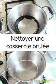 Nettoyer une casserole brûlée – Récupérer une casserole carbonisée à découvrir sur : https://cuisine-saine.fr/blog-cuisine-bio-tests/blog-cuisine-bio-astuce-nettoyer-une-casserole-brulee via @karenchevallier