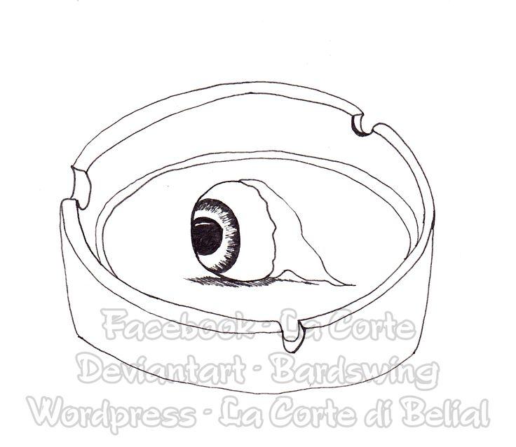 Drawlooween 9.Eyeball