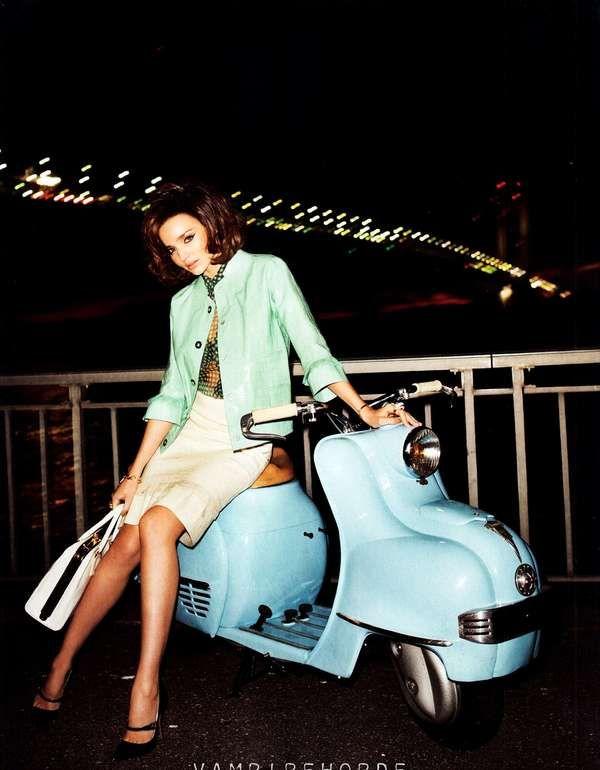 "Miranda Kerr in ""Flirty Fifties""  Harper's Bazaar April 2012    A bit o'mod squad: Terry O'Neil, Mirandakerr, Miranda Kerr, Flirti Fifty, Harpers Bazaars, Marc Jacobs, April 2012, Terry Richardson, Wasps"