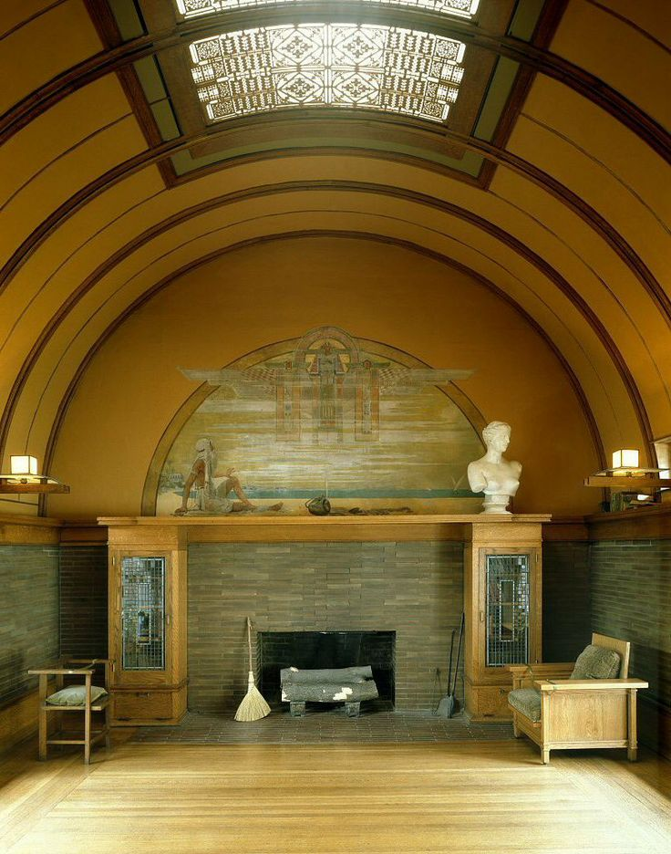 1000 images about 1er art frank lloyd wright on - Frank lloyd wright house interiors ...