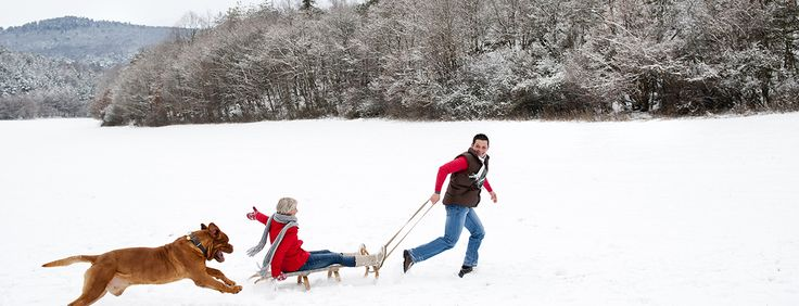 Vivre l'hiver en famille au Québec, - L'hiver en famille au Québec, c'est magique!