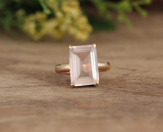 Hey, I found this really awesome Etsy listing at https://www.etsy.com/listing/267208540/engagement-ring-gold-rose-quartz-ring