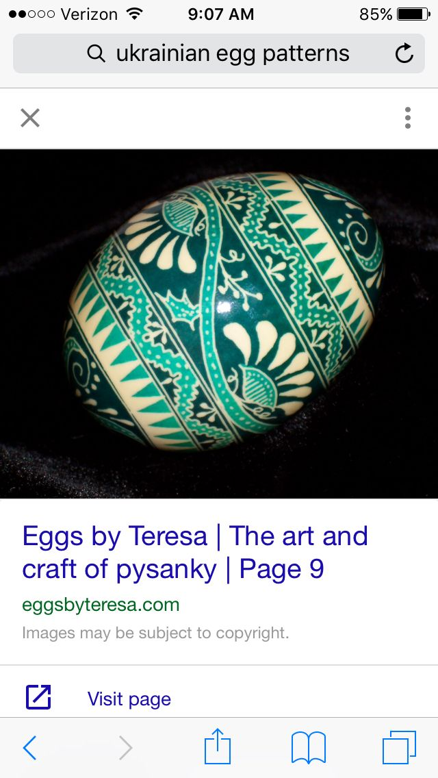 This egg inspired me to do layers on my egg