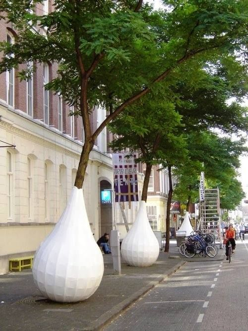 Dutch Design Tree wrap, Witte de Withstraat, Rotterdam, Holland, The Netherlands. Visit shop.holland.com/en for more Dutch Design Home and Fashion accessories